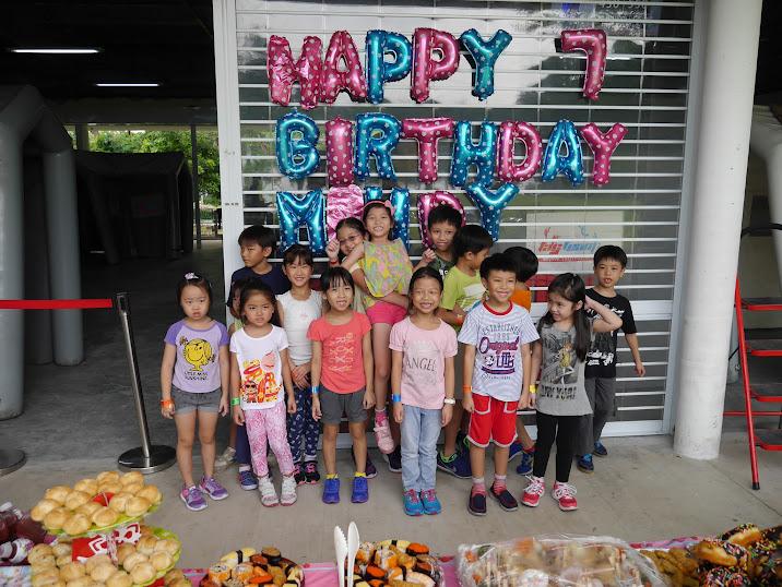 A Memorable 7th Tag Team Birthday Party – Katong Kids Inc