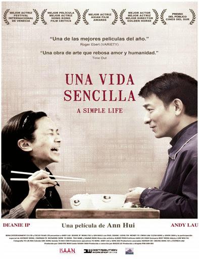 Poster de Una vida sencilla (Tao jie)