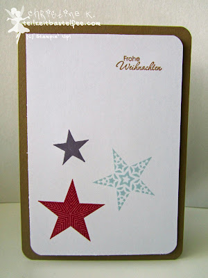 stampin up, inkspire_me challenge #154, simply stars, perfekte pärchen, petite pairs, christmas, weihnachten