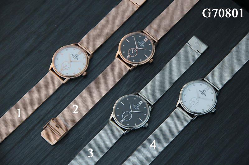 đồng hồ Carnival G70801 dây thép