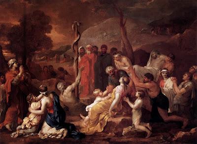 Sébastien Bourdon - Moses and the Brazen Serpent