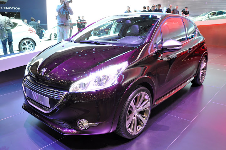 Peugeot Brings The 208 Party To Geneva Localized