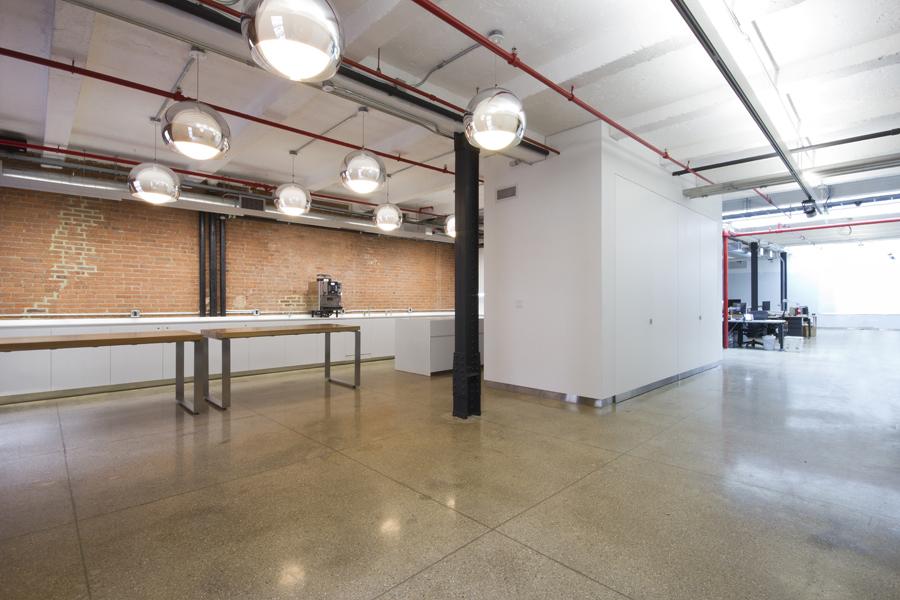 Minimal grimshaw architects new york office