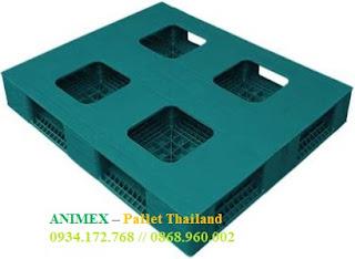 Pallet nhựa mặt bít Thái Lan