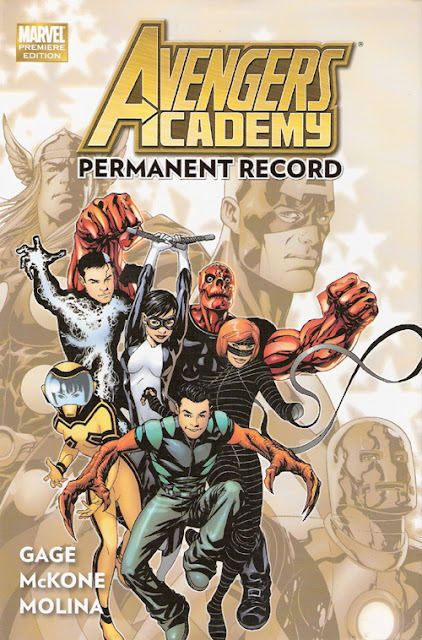 Avengers Academy, v. 1: Permanent Record cover