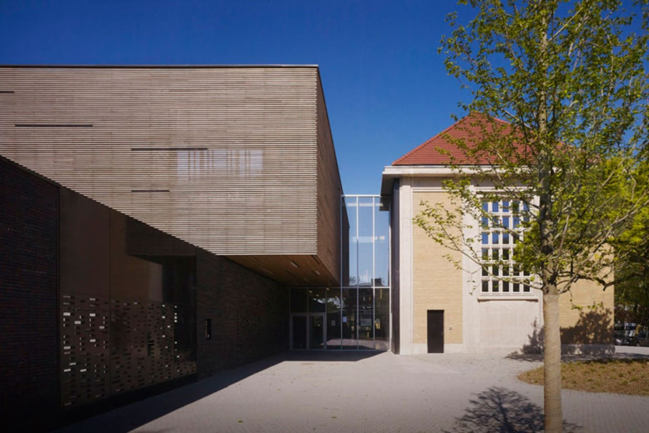 Briand Buisson Nadaud school by ZIGZAG Architecture
