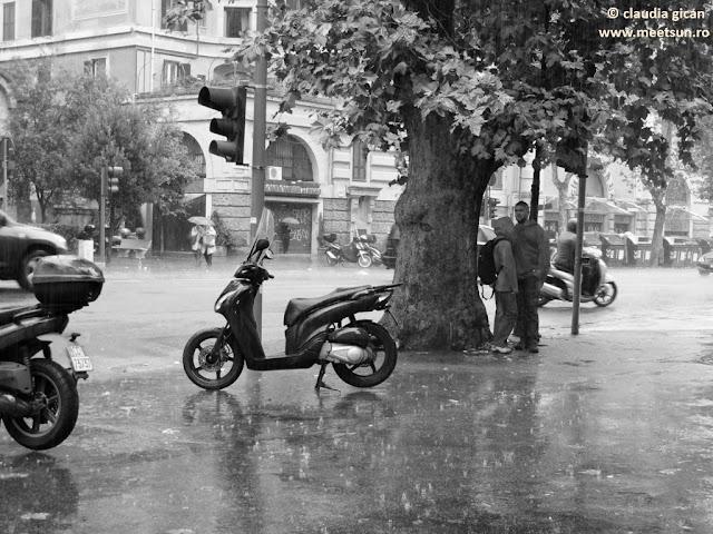 Roma. Cand ploua.