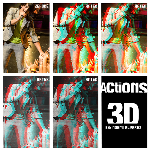 Actions 3D