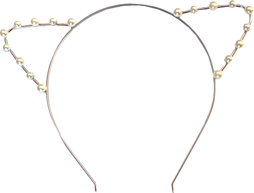 Pearl Cat Headband