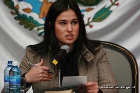 Diputada por el Distrito XXI de Nuevo León, Martha de los Santos