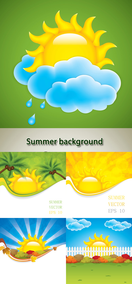 Stock: Summer background