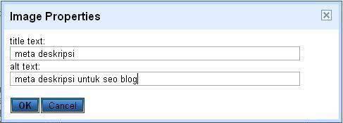 cara membuat image seo blog
