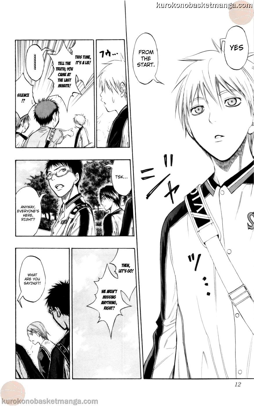 Kuroko no Basket Manga Chapter 81 - Image 10