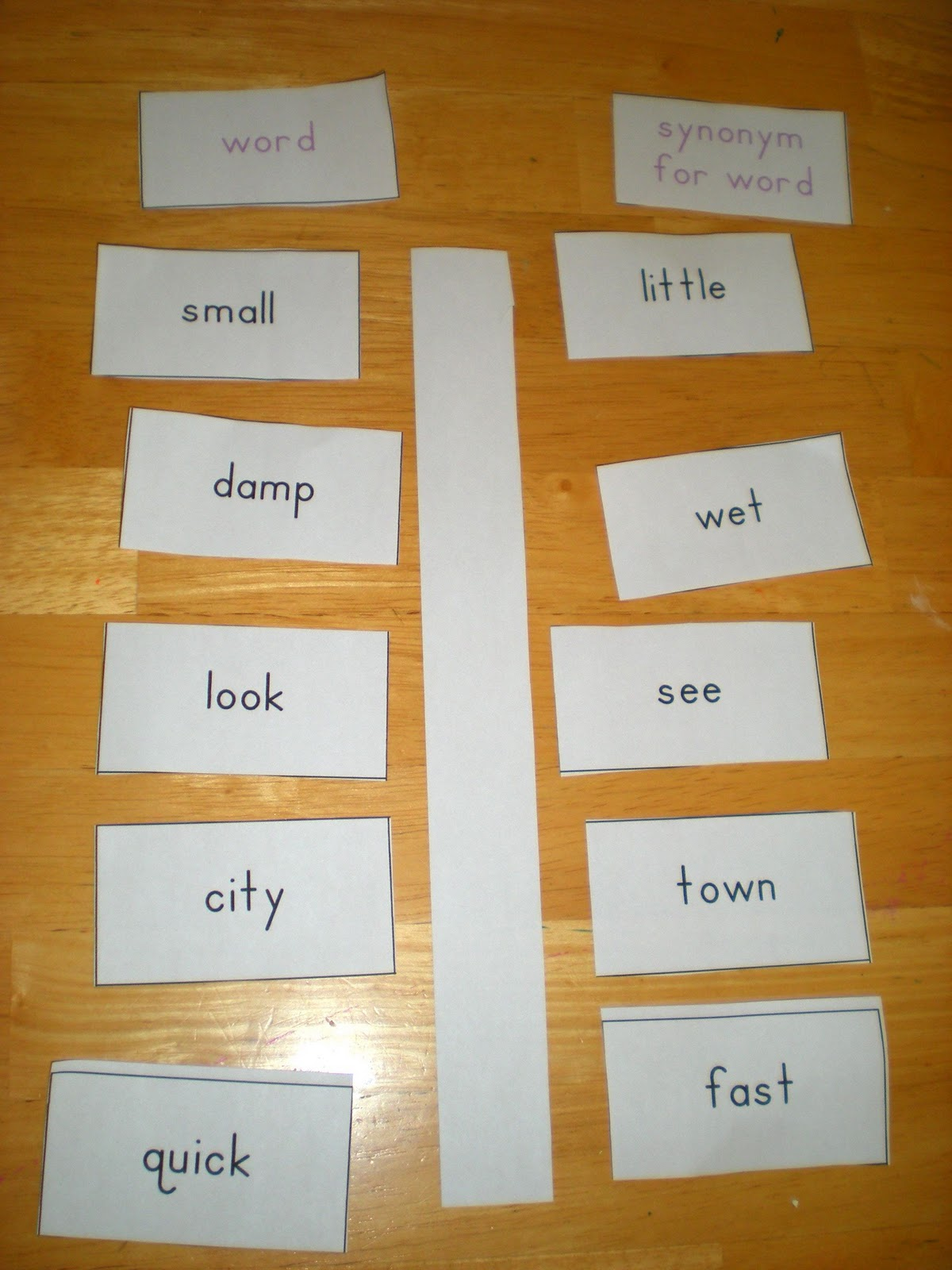 worksheet Learning Synonyms sippy cup central learning synonyms this week we are about words that mean the same thing i placed on left and olive had to match synonym right