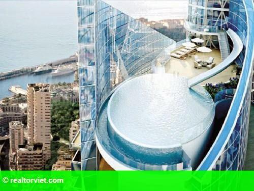 Hình 1: Nhà ngàn tỉ trên không