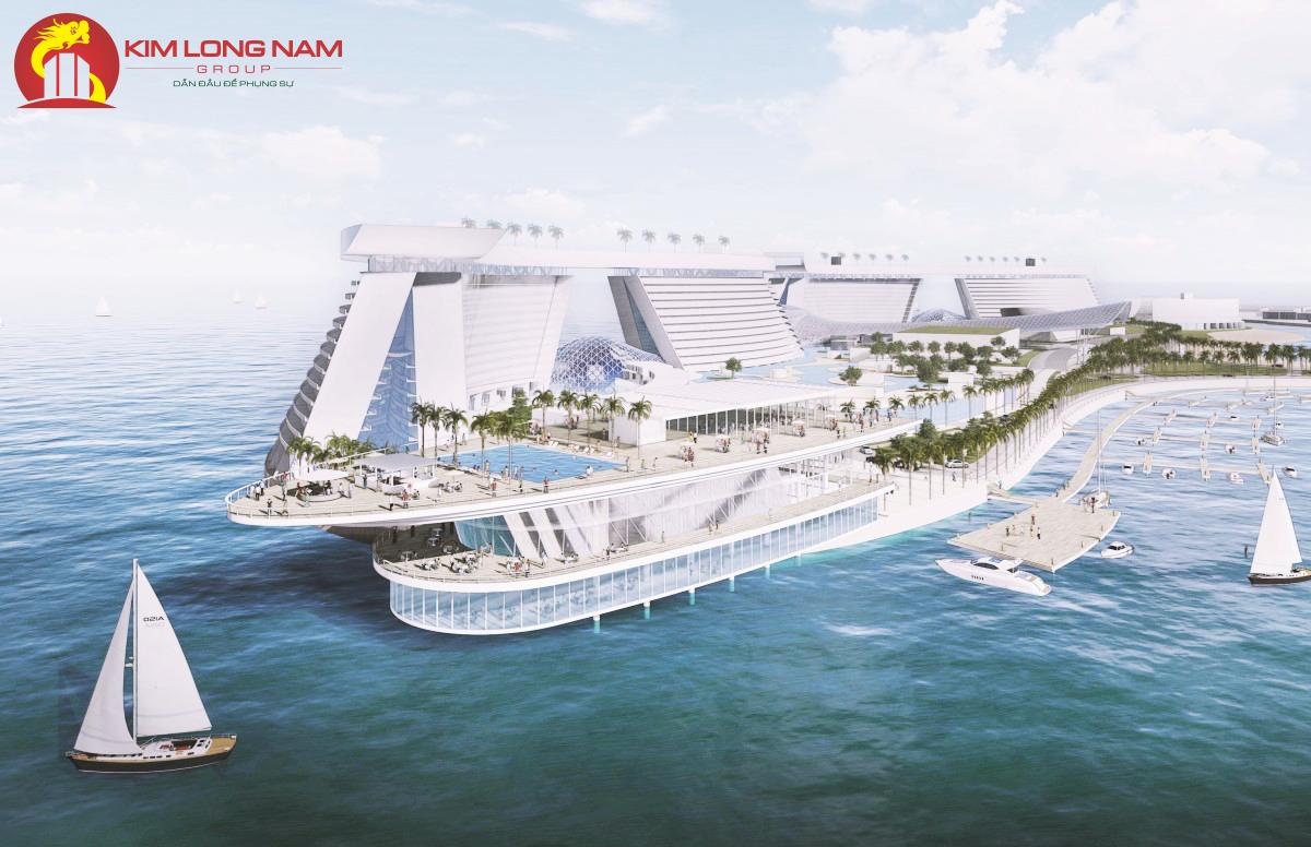 Bến du thuyền của Kim Long Ocean Đà Nẵng
