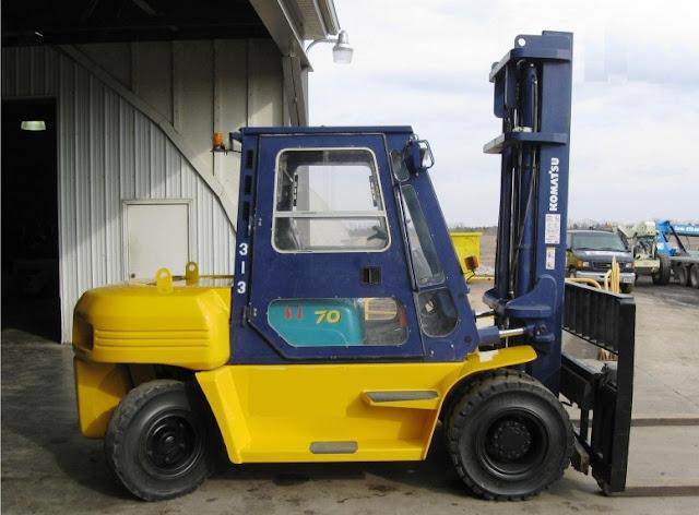 Xe nâng hàng 6 - 7 - 8 tấn Komatsu