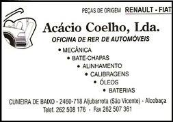 Acácio Coelho, Lda.