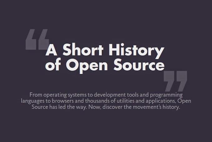 Una breve historia del Open Source (Infografía)