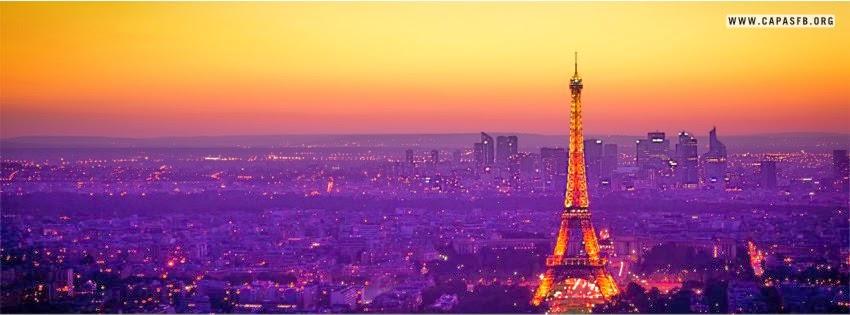 Capas para Facebook Paris na França