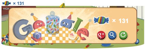 google doodle 15 happy birthday