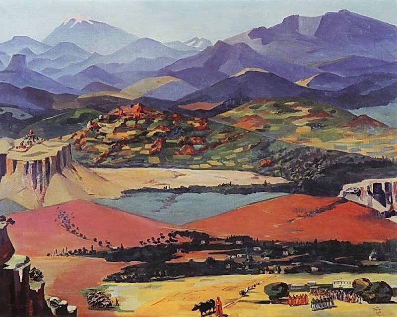 Martiros Saryan - Armenia, 1957