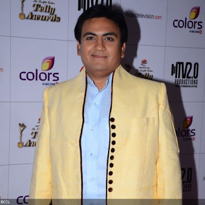 Dilip Joshi during the 12th Annual Indian Telly Awards, held in Mumbai.