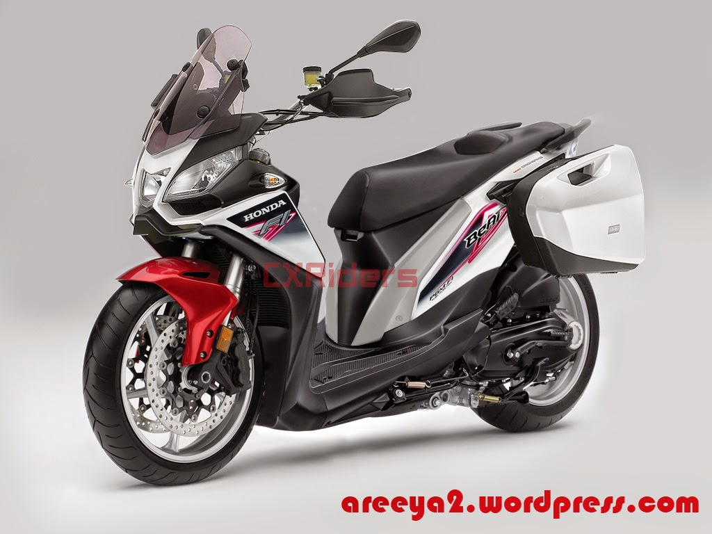Honda Beat Fi Modifikasi Touring