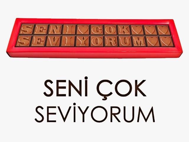 Çikolata Seni Seviyorum
