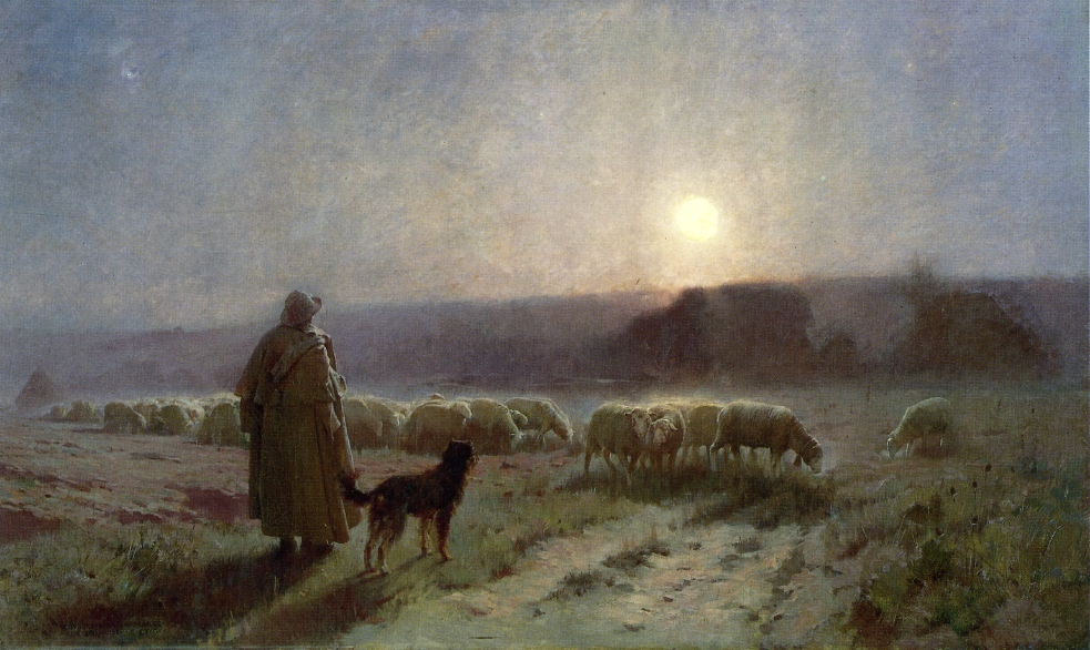 Charles Sprague Pearce - Evening