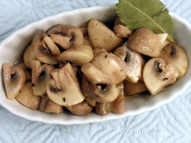 Coriander Mushrooms