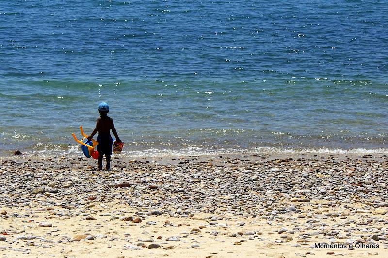 Praia do creiro sem areia, Setúbal