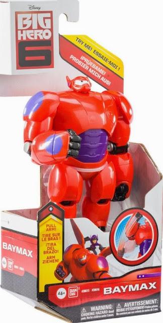 """Anh hùng Baymax Big Hero 6 loại 6"""" được làm từ chất liệu nhựa cao cấp"""