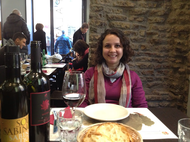 Enoteca Palatium'da yemek yerken, Roma