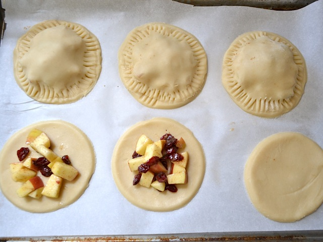 apple cranberry hand pies - Budget Bytes