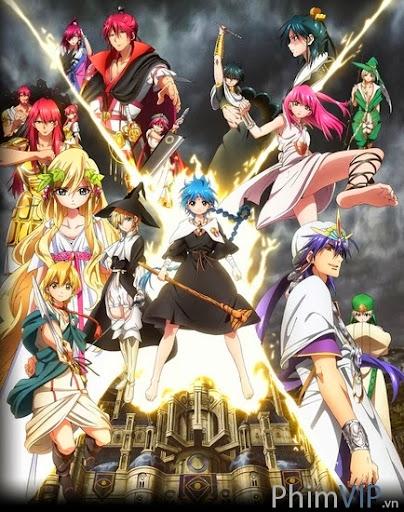 Vương Quốc Phép Thuật - Magi: The Kingdom Of Magic poster