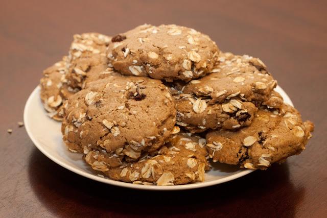 Oatmeal Raisin Cookies - 1