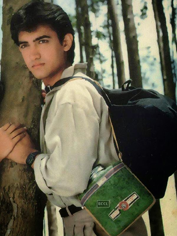 The very handsome handsome Aamir Khan debuted with a successful tragic romance Qayamat Se Qayamat Tak. He was an instant hit back then. Clcik next to see how he looks now!