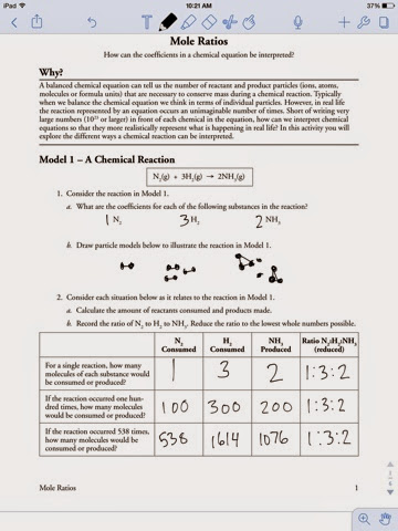 chemistry assignments mole ratio worksheet. Black Bedroom Furniture Sets. Home Design Ideas