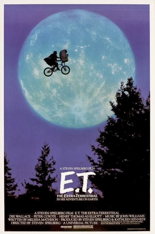Poster Of E.T. The Extra-Terrestrial (1982) Full Movie Hindi Dubbed Free Download Watch Online At Alldownloads4u.Com