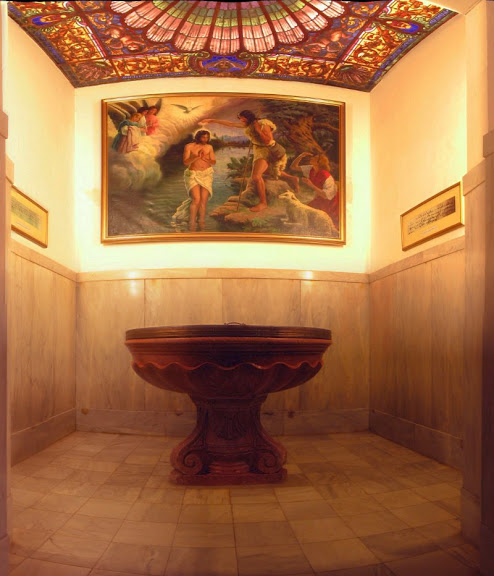 Baptisterio de la Iglesia Colegial Basílica de Santa María de Xàtiva