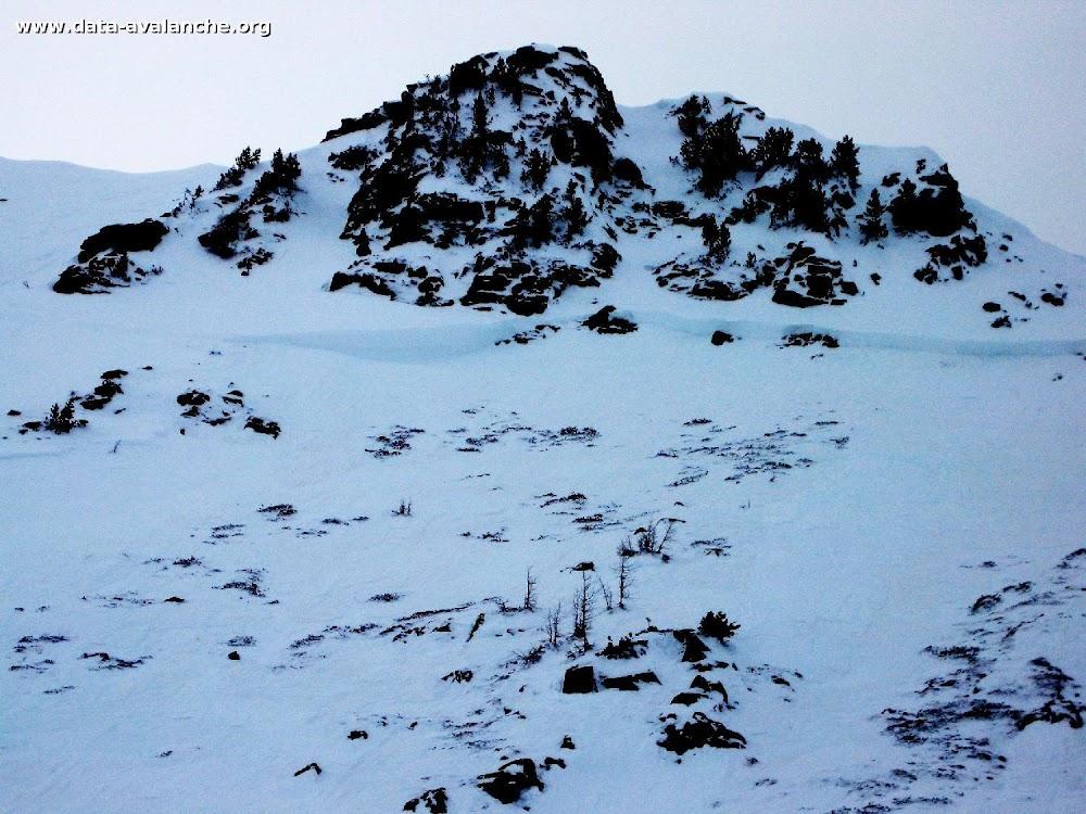 Avalanche Mercantour, secteur Mont St-Sauveur, Combe de Mené - Photo 1