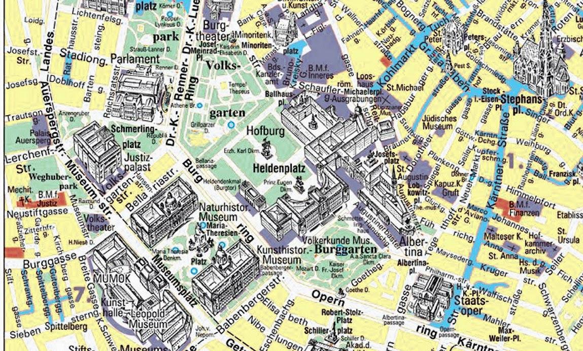 mapa de viena com pontos turisticos Guia de Viena | Viagem.decaonline.| Dicas de Viagem mapa de viena com pontos turisticos