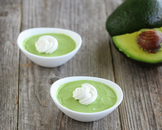 photo of two bowls of Avocado Coconut Mousse