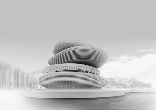 Busan Opera House Proposal by PRAUD