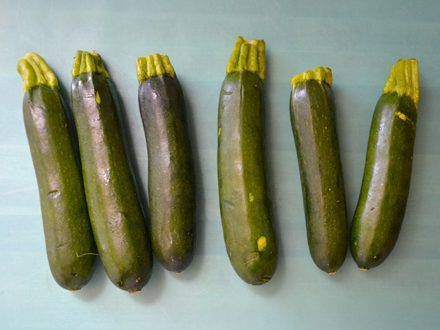 whole zucchini
