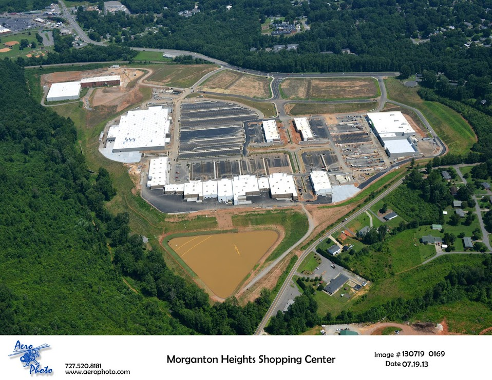 Morganton Heights Aerial 3