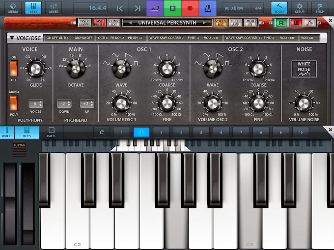 iOS synthesizer