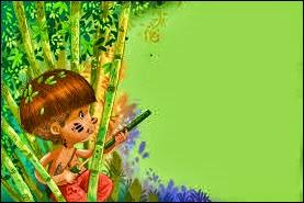 Bebeletokan, Permainan Tradisional Senapan Bambu