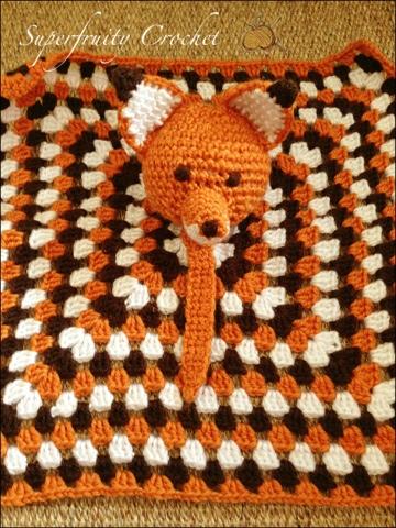 Superfruity Crochet: That's fantastic, little Mr Fox